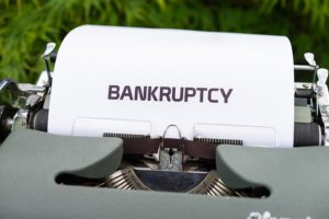Bankruptcy Filing and Its Effect